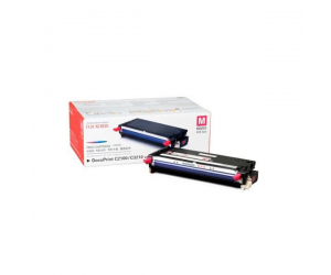 Fuji Xerox DocuPrint C2100 (CT350483) Magenta Genuine Original Printer Toner Cartridge