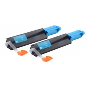 TonerGreen DocuPrint C525A (CT200650) Cyan Compatible Printer Toner Cartridge Value Pack 2X
