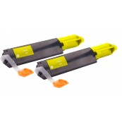 TonerGreen DocuPrint C525A (CT200652) Yellow Compatible Printer Toner Cartridge Value Pack 2X