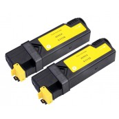TonerGreen DocuPrint C1110 (CT201117) Yellow Compatible Printer Toner Cartridge Value Pack 2X