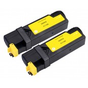 TonerGreen DocuPrint C1190FS (CT201263) Yellow Compatible Printer Toner Cartridge Value Pack 2X